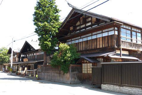 増田地区の町並み